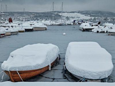 Vinterförvaring av båten